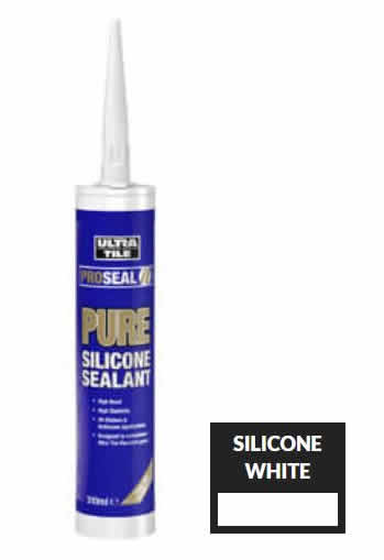 Bath Sealer - Mould Resistant Silicone - Ultra Pure Silicone Sealants